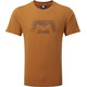 Mountain Equipment Groundup Logo+ Maglietta a maniche corte Uomo arancione